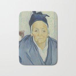 An Old Woman of Arles Bath Mat