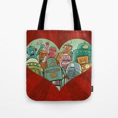 Robot Love Tote Bag