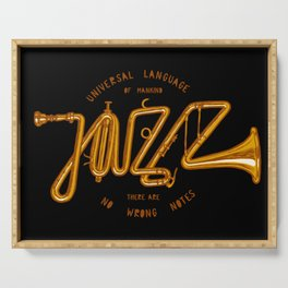 Jazz Trumpet Serving Tray