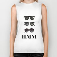 haim Biker Tanks featuring Haim by Mariam Tronchoni