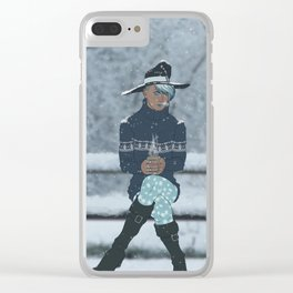 Sea Witch - A Season's Greeting Clear iPhone Case