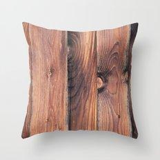 Barnwood Throw Pillow