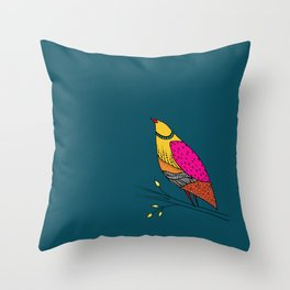 the colored Neville Throw Pillow