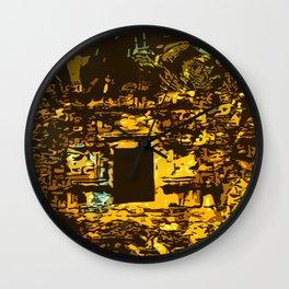 Chianna Ruins Wall Clock