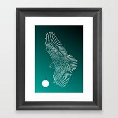 Beyond The Moon Framed Art Print