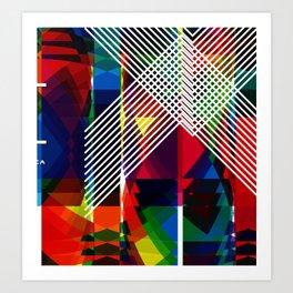 Chrome II Art Print