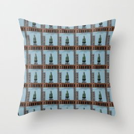 Pure Milk Montreal Throw Pillow