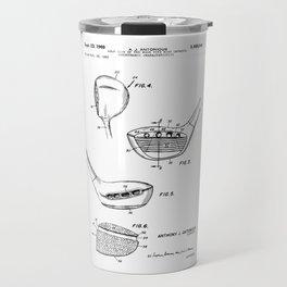 patent art Antonious Golf Club of the wood type 1969 Travel Mug