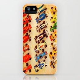 RACE CARS iPhone Case