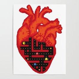 Heart-Man Poster