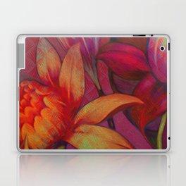 """Retro Giant Floral Pattern"" Laptop & iPad Skin"