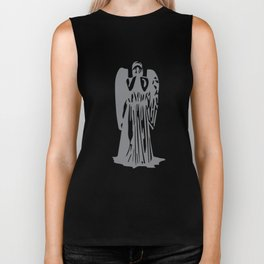 Doctor Who - Weeping Angel Biker Tank