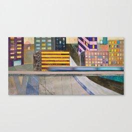 Nisja: the night train 2 Canvas Print