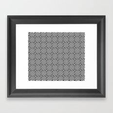 Inverse or Circles and Circles Framed Art Print
