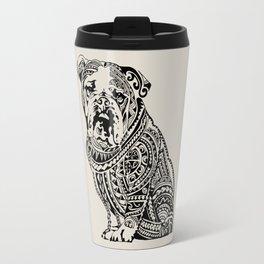 Polynesian English Bulldog Travel Mug