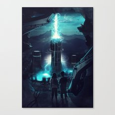 Where we once played Canvas Print