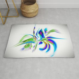 Abstract perfection - Flower Magical Rug