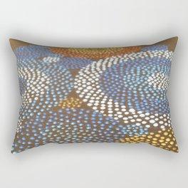 """""""Circle Free Form N°02"""" - Detail 2 Rectangular Pillow"""