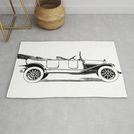 Old car 5 Rug