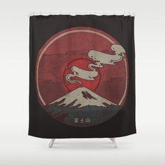 Fujisan Shower Curtain