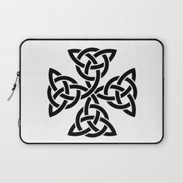 Celtic triquetra cross Laptop Sleeve