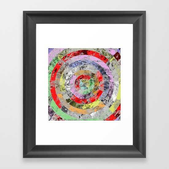 Wall Art Pastel Colours : Textured bullseye abstract marble pastel colours