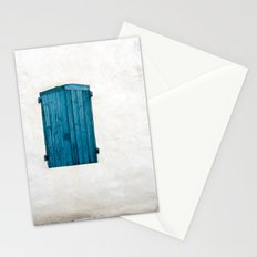 Old blue store Stationery Cards