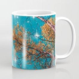 Starry Sky in the Woods Coffee Mug