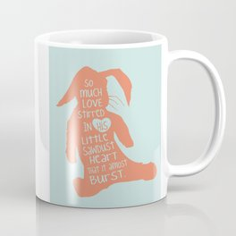 So Much Love Stirred in a little Sawdust Heart Coffee Mug
