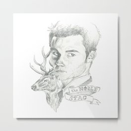 The noble stag Metal Print
