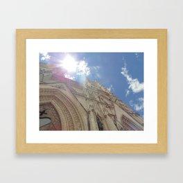 La Basílica del Sagrado Voto Nacional, Trece Framed Art Print