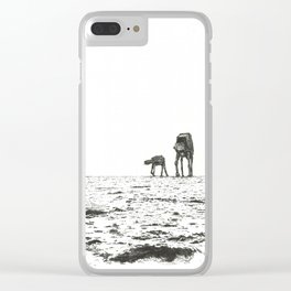 At-At Walker Clear iPhone Case