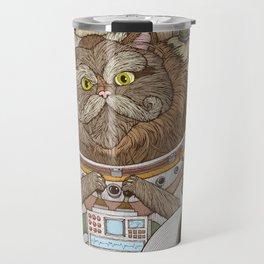 Commander Whiskers Travel Mug