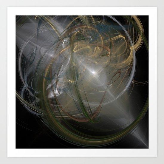 Light Through The Chaos Art Print