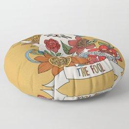 The Fool (El lLoco) Floor Pillow