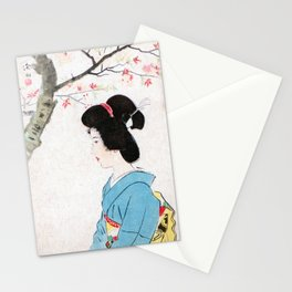 Cherry Blossoms in Bloom Stationery Cards
