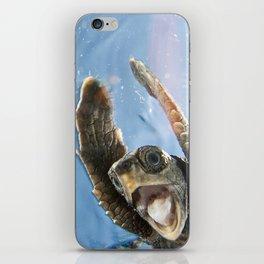 Screaming Turtle iPhone Skin