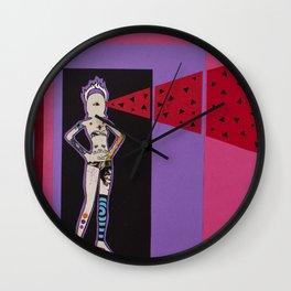 laser Wall Clock