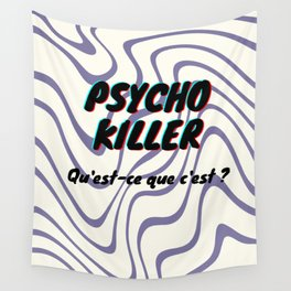 Psycho Killer Wall Tapestry