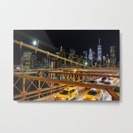 New York - the city that doesn't sleep Metal Print