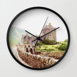 Way to Skye Wall Clock