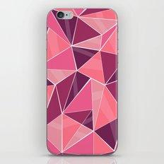 Pattern, pink iPhone & iPod Skin