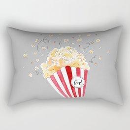 crazy popcorn Rectangular Pillow