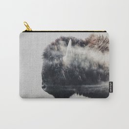 Wild West Bison Carry-All Pouch