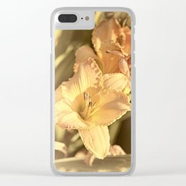Memories Of Spring Clear iPhone Case