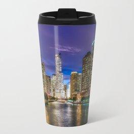 Chicago Sunset Travel Mug