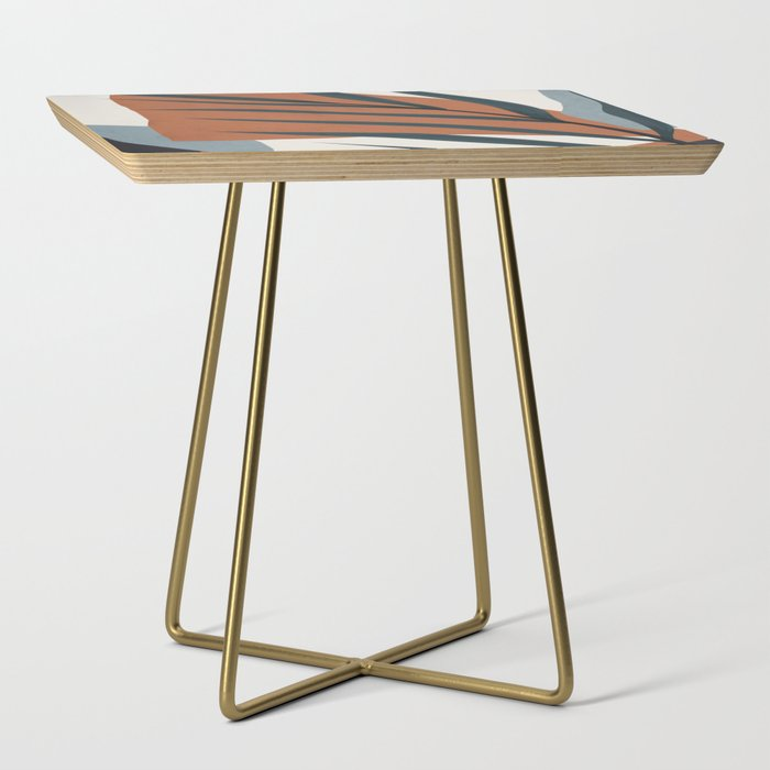 Abstract Art 35 Side Table