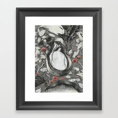 Heart-Shaped Box Framed Art Print