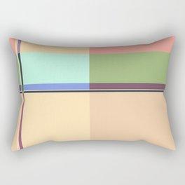 CASUAL PASTEL GEOMETRIC Rectangular Pillow