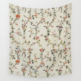 Floral Piece late 18th century Chinese for French market Wall Tapestry